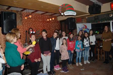 Француско-Македонска Божиќна вечер