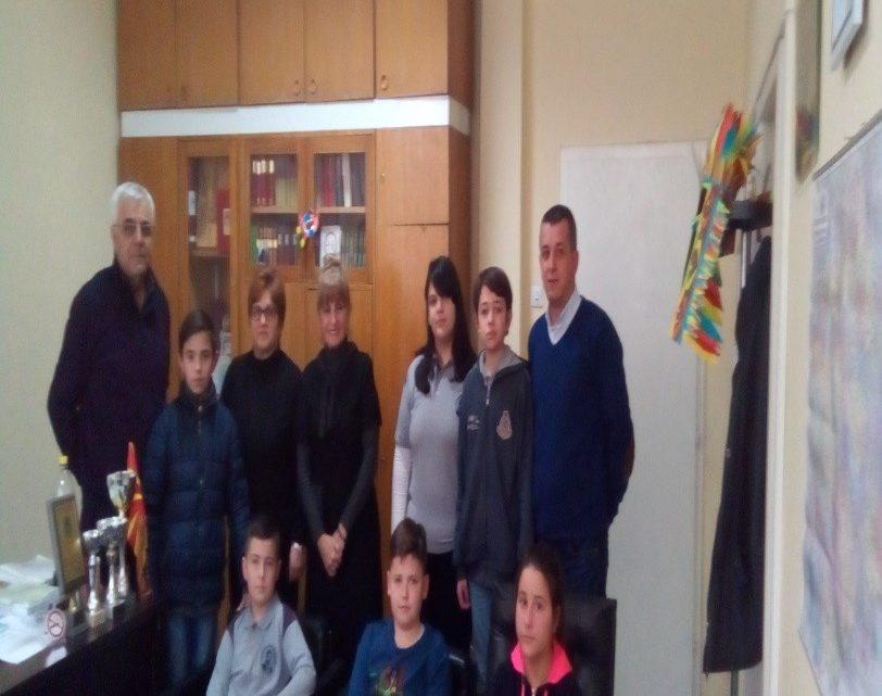 Список на учесници на регионален натпревар по математика од ООУ,, Гоце Делчев,, Прилеп