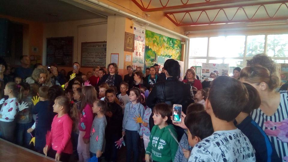 Прием на првачињата во Детската организација