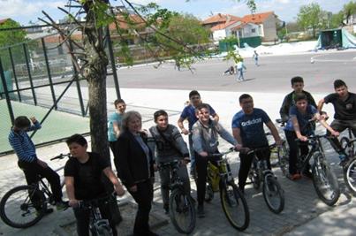 """Еразмус + SIDS  """"Еко возило е велосипедот"""""""
